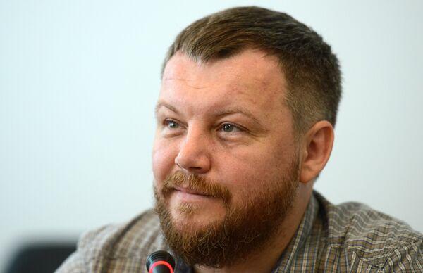 The self-proclaimed Donetsk People's Republic (DPR) First Deputy Prime Minister Andrei Purgin - Sputnik International