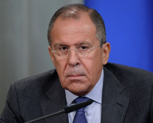 Russian Foreign Minister Sergey Lavrov expresses hope that Russian President Vladimir Putin's seven-point peace plan would help develop a platform for the resolution of the Ukrainian crisis. - Sputnik International
