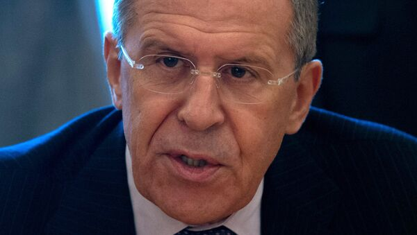 Russian Foreign Minister Sergei Lavrov said it is inappropriate to dictate the conflicting sides how to implement ceasefire agreements. - Sputnik International