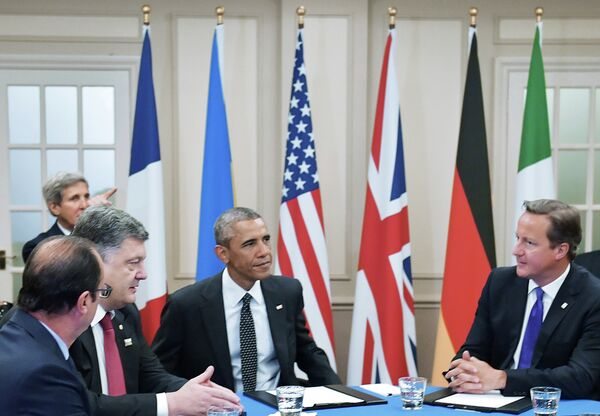 NATO summit in Wales in September, 2014 showed that NATO is unlikely to incorporate Ukraine in the nearest future. - Sputnik International