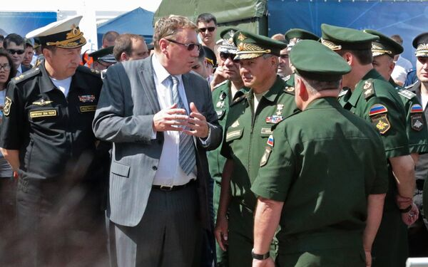 Chief Designer at Russia's Scientific Production Enterprise Radar MMS - Sputnik International