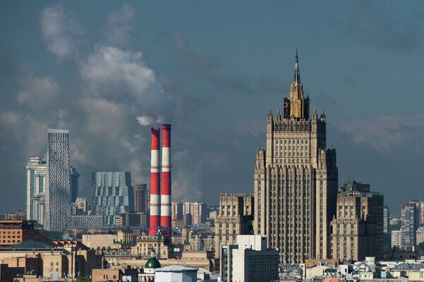 The bulding of the Russian Foreign Ministry in Moscow. - Sputnik International