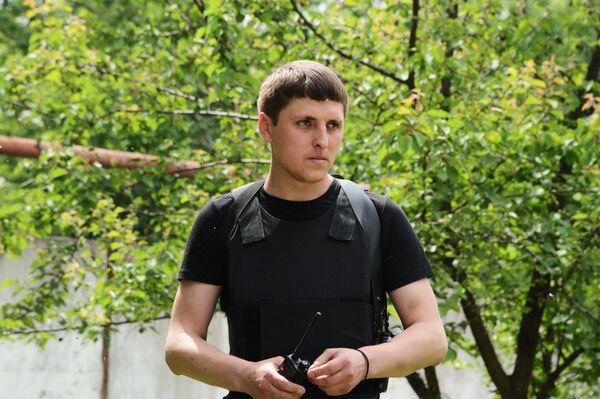 DPR Acting Security Minister Leonid Baranov - Sputnik International