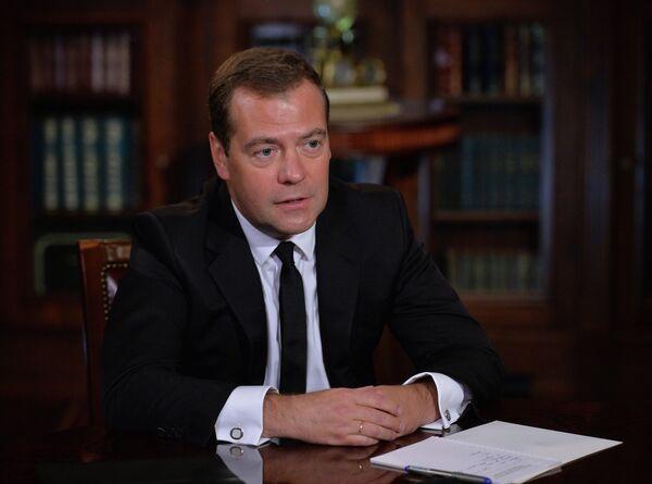 Russian Prime Minister Dmitry Medvedev said energy, finance sanctions against Russia may provoke 'asymmetric response' - Sputnik International