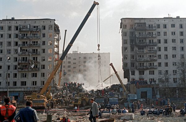 On September 9th, Russians are commemorating the victims of a terrorist attack on Guryanova Street in Moscow, which was carried out by radical Islamists in 1999. - Sputnik International