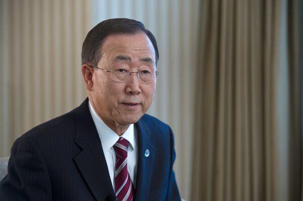 UN Secretary General Ban Ki-moon welcomed the release of Turkish citizens. - Sputnik International