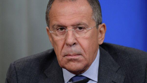 Sergey Lavrov meets with Mongi Hamdi - Sputnik International