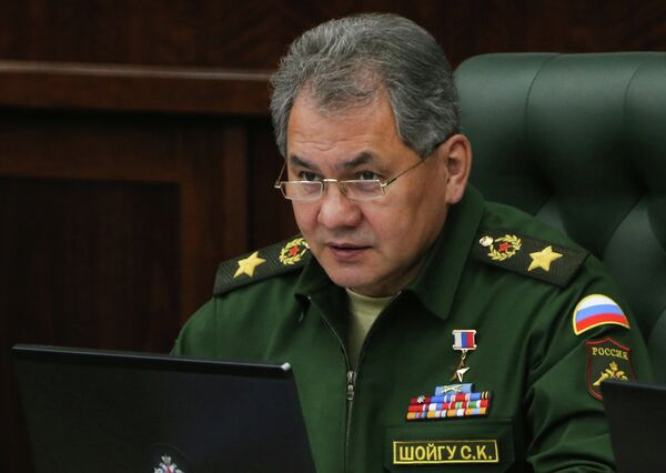 Russian Defense Minister Sergei Shoigu said Thursday in a conference call with the top military brass of the Armed Forces that in the Middle East highlight that the threat of chemical and biological weapons use remained prevalent. - Sputnik International