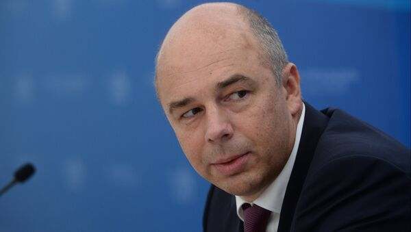 Russia's Finance Minister Anton Siluanov says that the Russian government is still mulling a new sales tax. - Sputnik International