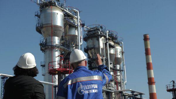 Moscow Gazprom Oil refinery facility - Sputnik International