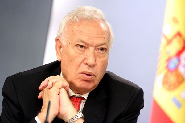 Spain's Minister of Foreign Affairs and Cooperation Jose Manuel Garcia-Margallo y Marfil - Sputnik International