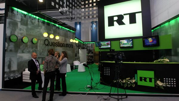 The RT news channel is among the finalists for the 2014 International Emmy Awards. - Sputnik International