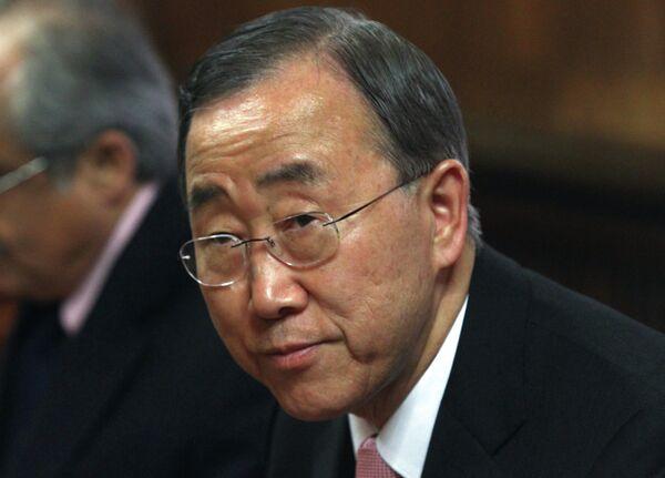 Ban Ki-Moon has called on Nuclear-Weapon-Free countries to remain nuclear-weapon-free, the spokesperson for the UN Secretary General said - Sputnik International