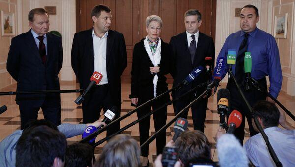 Meeting of contact group in Minsk. - Sputnik International