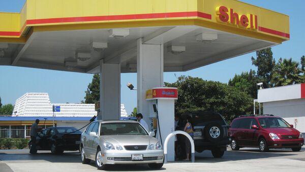 Gas Station of Shell concern. - Sputnik International