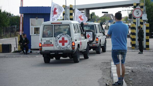Cars of the International Red Cross. (File). - Sputnik International