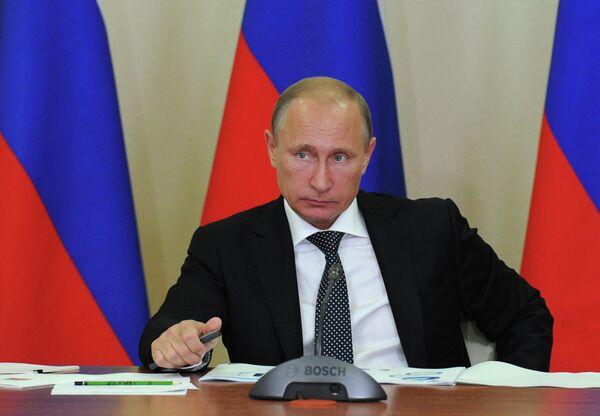 Russian President Vladimir Putin is celebrating his 62nd birthday on October 7, 2014 - Sputnik International