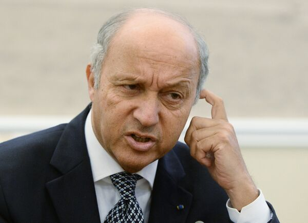 French Foreign Minister Laurent Fabius - Sputnik International