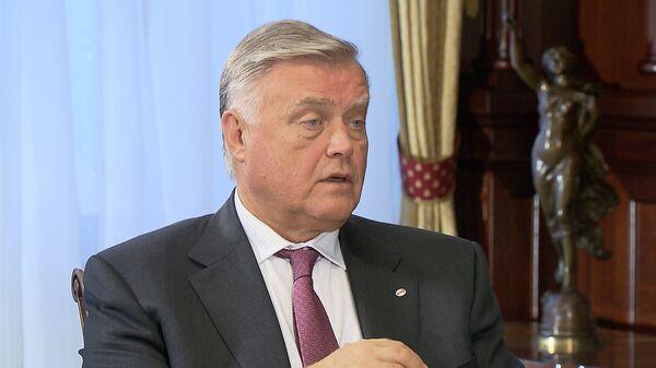 The head of Russian Railways company Vladimir Yakunin - Sputnik International