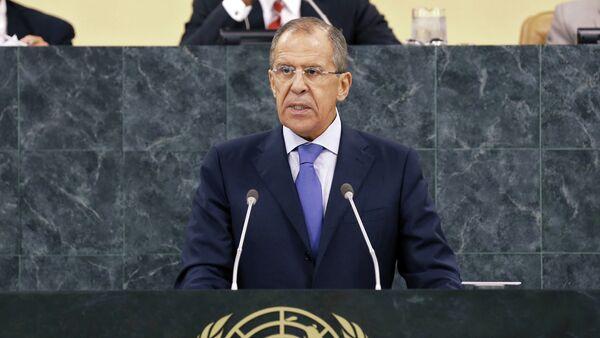 Sergey Lavrov addresses UN General Assembly - Sputnik International