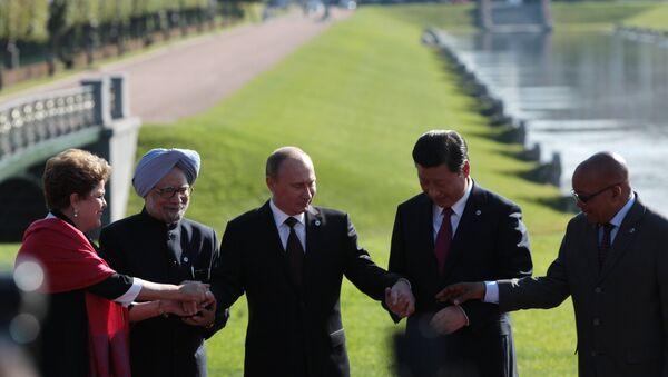Photo of BRICS countries' leaders - Sputnik International