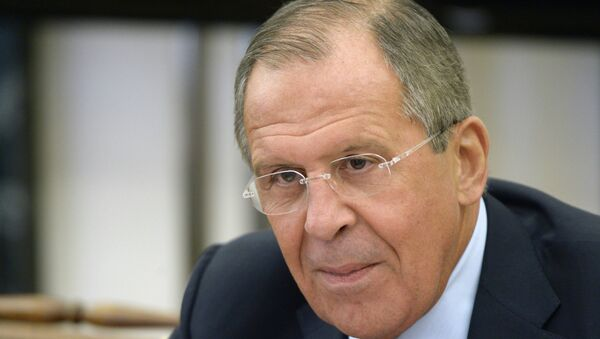 Following the meeting with his US counterpart, Russian Foreign Minister Sergei Lavrov underscored the importance of avoiding artificial formats of the Ukrainian crisis reconciliation process and adhering to the agreements, reached by the Contact Group on Ukraine in Minsk. - Sputnik International