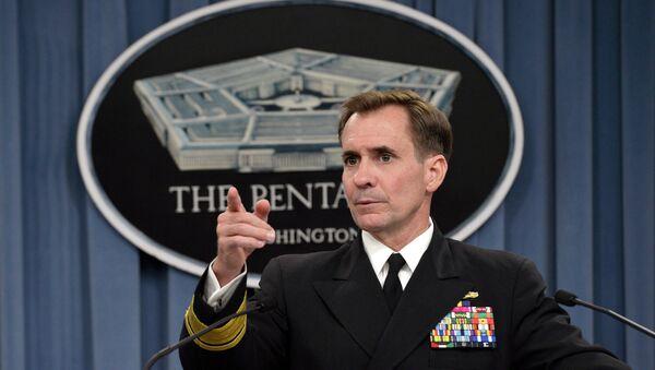 Pentagon Press Secretary Rear Admiral John Kirby - Sputnik International