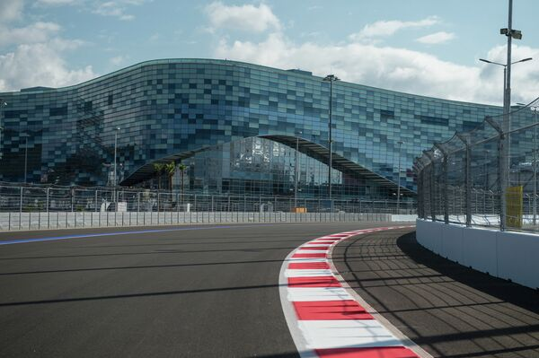 The circuit is 5.852 kilometers (2.637 miles) long and includes 19 turns. The maximum speed that can be achieved on the track is 320 kph (199 mph). - Sputnik International
