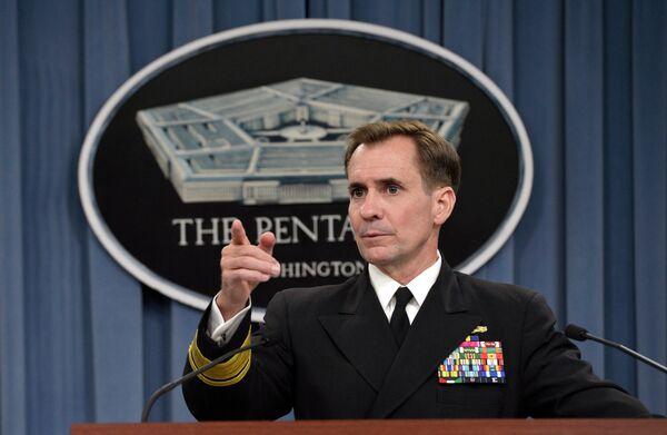 Washington may send 4,000 troops to West Africa, Pentagon Press Secretary Rear Admiral John Kirby said - Sputnik International