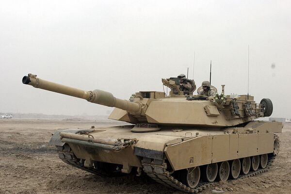 The US Department of State has approved a potential sale of M1A1 Abrams tank ammunition, equipment, parts and logistical support to Iraq that would cost $600 million. - Sputnik International