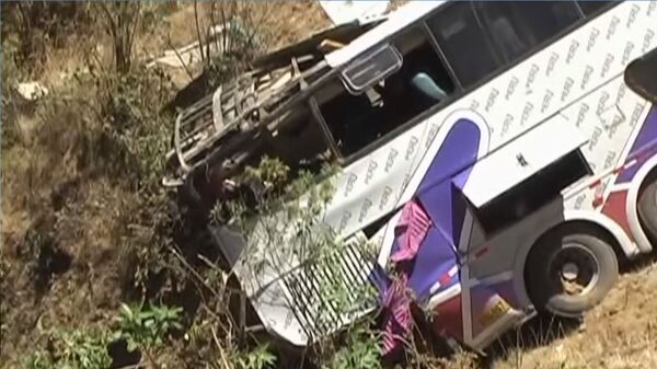Amid the Sunday municipal and regional elections in Peru, 22 people have died as a result of three road accidents. - Sputnik International
