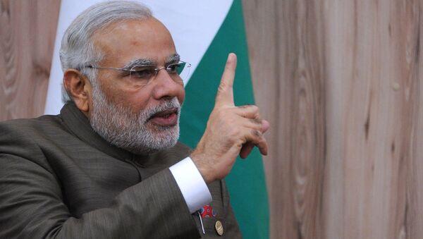Indian Prime Minister Narendra Modi - Sputnik International