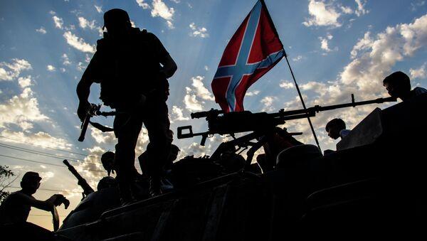 Donbas militia in Eastern Ukraine - Sputnik International