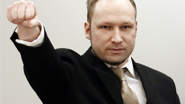 Anders Breivik was sentenced to 21 years in prison for carrying out deadly attacks in Norway in 2011. - Sputnik International