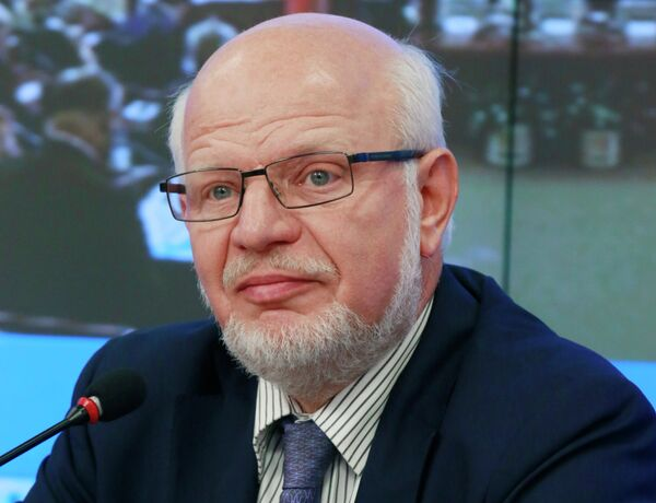 Chairman of the Russian Presidential Council for Civil Society and Human Rights Mikhail Fedotov. - Sputnik International