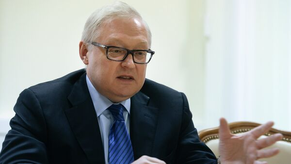 Russian Deputy Foreign Minister Sergei Ryabkov says that a meeting between the foreign ministers of Iran and the 5+1 group could take place in November. - Sputnik International