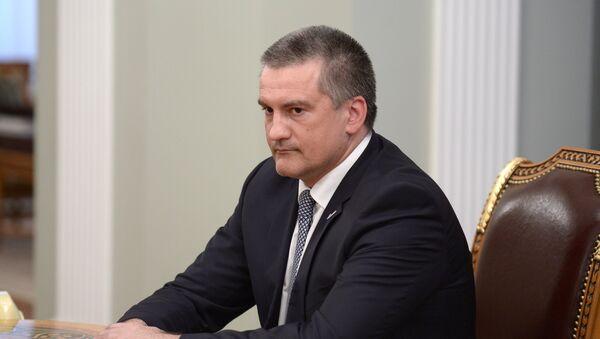 Crimean Prime Minister Sergei Aksyonov. - Sputnik International