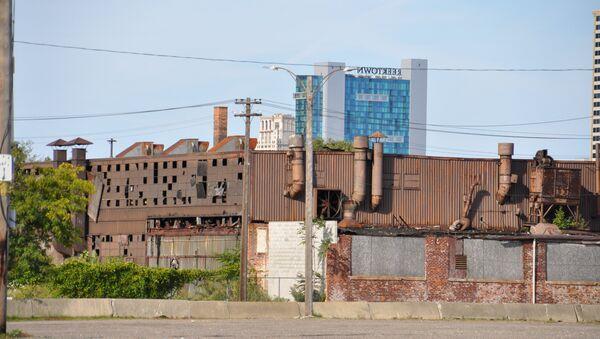 Заброшенный завод в Детройте - Sputnik International