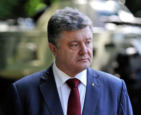 OSCE security organization's mission in Ukraine will deploy counter-battery radars to some eastern areas of Ukraine, Poroshenko claimed - Sputnik International