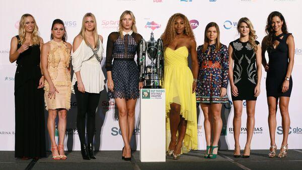 WTA Finals Draw Ceremony - Sputnik International