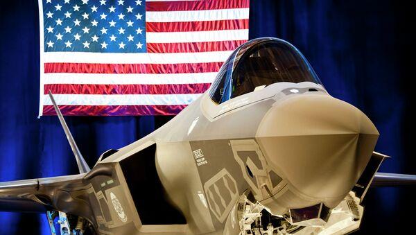 The first F-35 Lightning II joint strike fighter - Sputnik International