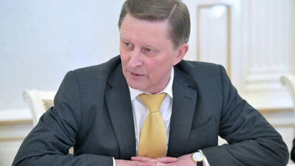 С.Иванов провел встречу с журналистами - Sputnik International