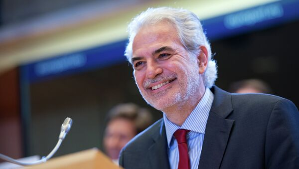 EU countries have given Cyprian MEP Christos Stylianides the responsible for coordinating the Union's efforts in its struggle against the deadly Ebola virus, which recently emerged in West Africa and has already spread internationally, EUbusiness reports. - Sputnik International