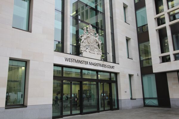 A British man appeared at the Westminster Magistrates' Court, where he was charged with preparing acts of terrorism. - Sputnik International
