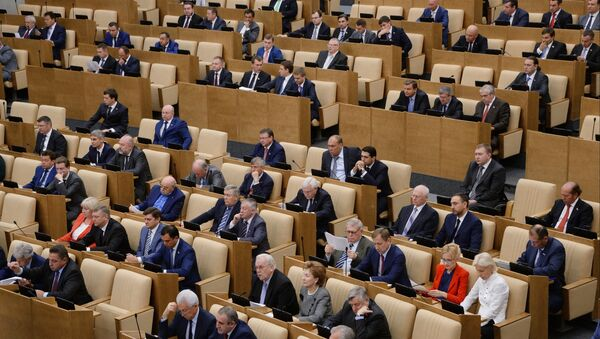 Kiev and Donbas representatives must make steps to establish a dialogue within the framework of the Minsk agreements, speaker of the State Duma said. - Sputnik International