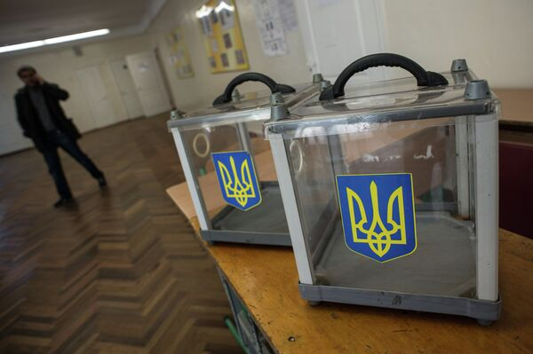 The largest number of foreign polling stations have been set up in Russia, Germany, the United States, Poland and Italy. Up for grabs are 424 seats in the 450-seat unicameral parliament, known as the Verkhovna Rada. - Sputnik International