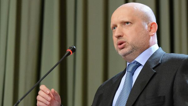 Turchynov urged to engage in talks on the creation of a pro-European coalition in Ukraine Parliament right after the elections - Sputnik International