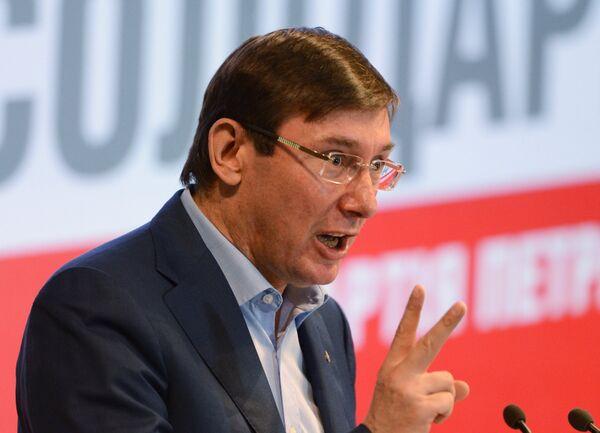 The prime minister will be determined through coalition talks, leader of Petro Poroshenko bloc said - Sputnik International