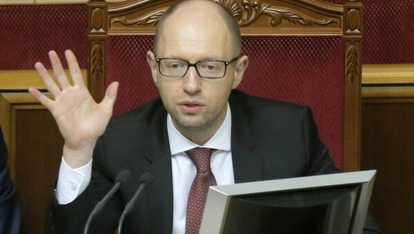 Yatsenyuk confirmed that the parliamentary majority coalition in newly-elected parliament to be formed as quickly as possible - Sputnik International