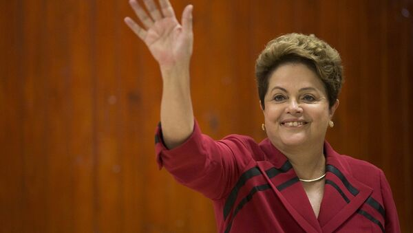 Dilma Rousseff, who won the October 26 runoff election by the narrow margin of just three percent of the vote, has been sworn in for the second term Thursday to serve four more years as the president of Brazil. - Sputnik International